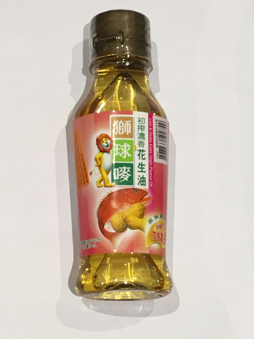 150ml Extra Virgin Paenut Oil - Lion and Globe Brand