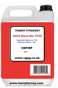 1 Litres Red VG PG Blend Mix 70:30 Ratio Base Mix