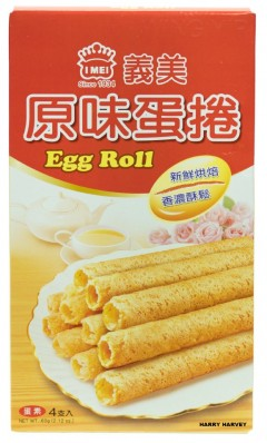 I Mei Egg Roll Original - 12 x 60g Packets