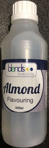 500ml Blends Almond Food Flavour Flavouring liquid, Cake Decoration bakery 0.5l