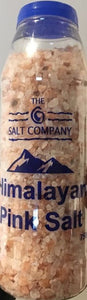 750g Himalayan Pink Salt - The Salt Company - bottle tub sealed contaner