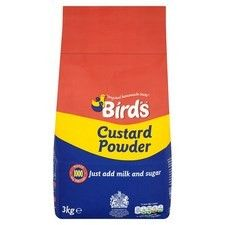 3kg Catering Size Birds Custard Powder