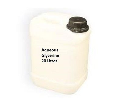 20 Litres Aqueous Glycerine Vegetable Glycerol Glycerin Kosher Aqua