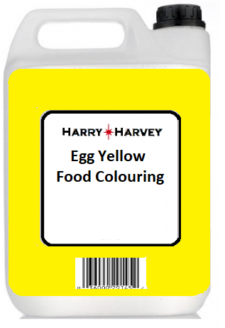 1 Litre Harry Harvey Egg Yellow Liquid Food Colouring