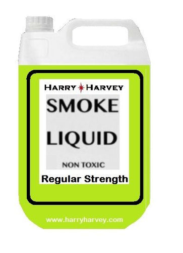 5 Litres DJ Smoke Fluid - Regular Strength - Green Liquid