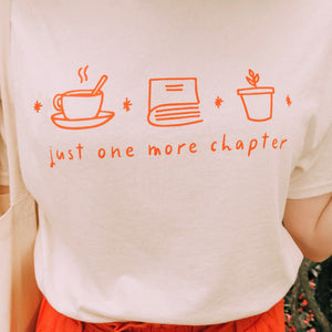 """One More Chapter"" tee"