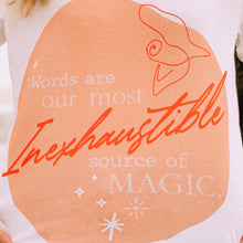 "Load image into Gallery viewer, ""Words Are Magic"" tee"