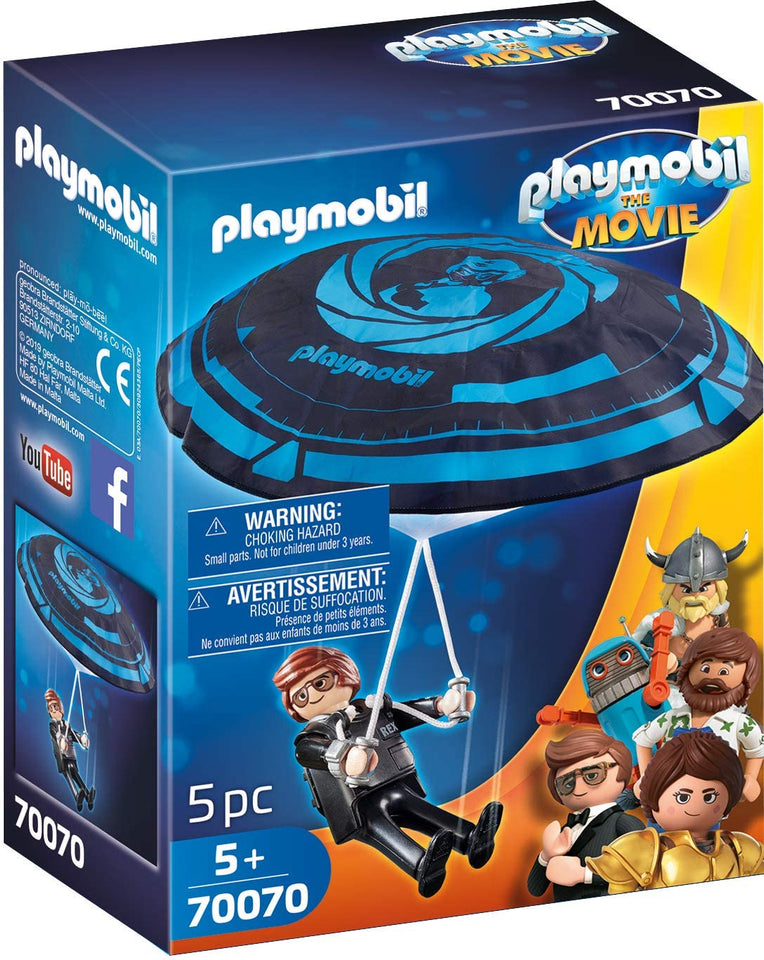PLAYMOBIL: THE MOVIE Rex Dasher con Paracaídas