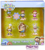 Tickety Toc. Pack de 6 figuras