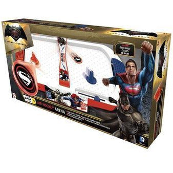 AIR HOCKEY DE BATMAN VS SUPERMAN. Caja dañada