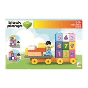 BLOQUES TRENECITO INFANT 42 PCS