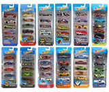Coches Hot Wheels Pack de 5 Vehículos