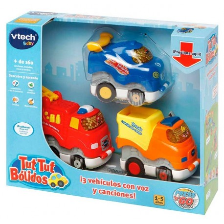 VTech Press & Go, 3 coches interactivos