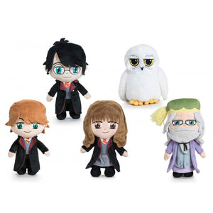 Famosa Softies Harry Potter - Peluche 20cm Harry Potter Ministerio de Magia Calidad Super Soft