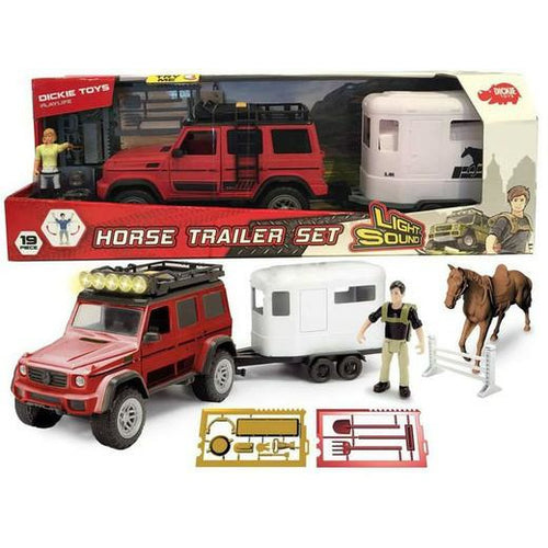 Set XL Playlife caballo AMG 500 con figura y accesorios