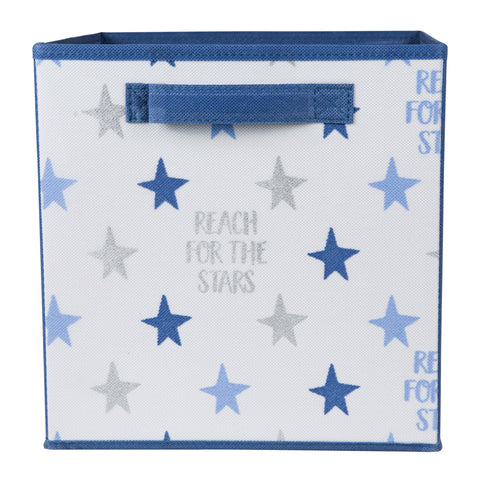 Reach for the Stars Printed Storage Cube
