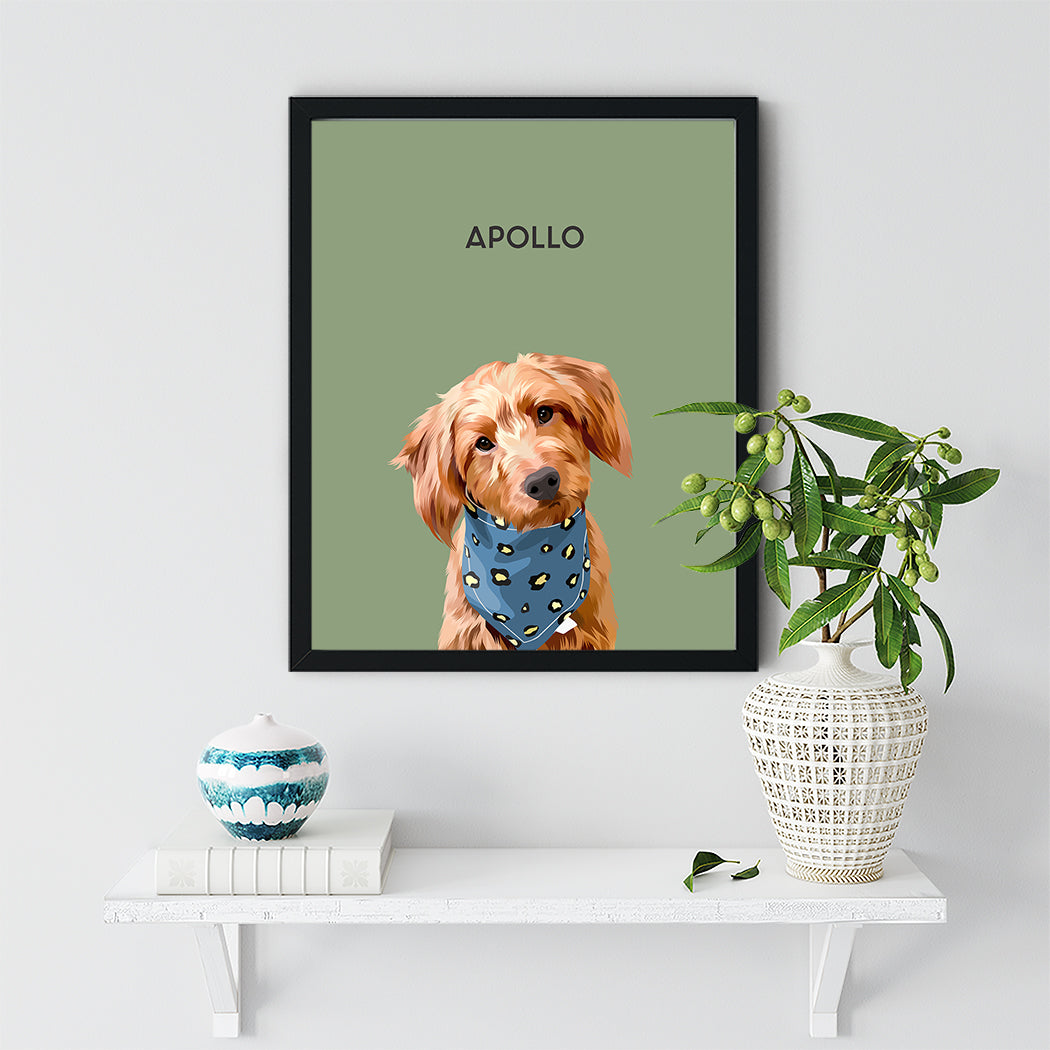 Apollo Dog Black Frame