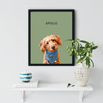 Load image into Gallery viewer, Apollo Dog Black Frame