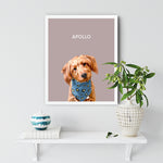 Load image into Gallery viewer, Apollo Dog White Frame