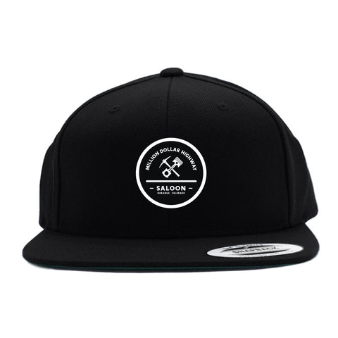 Pick & Piston Circle Patch Flat Bill Hat