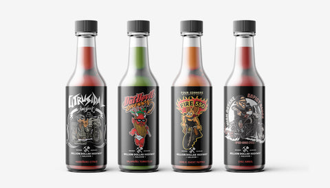Hot Sauce 4 Pack - Limited Edition, Series 1