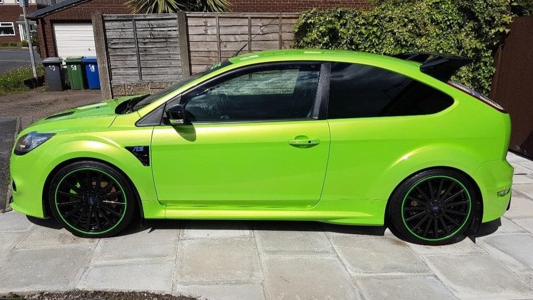 lime green blades