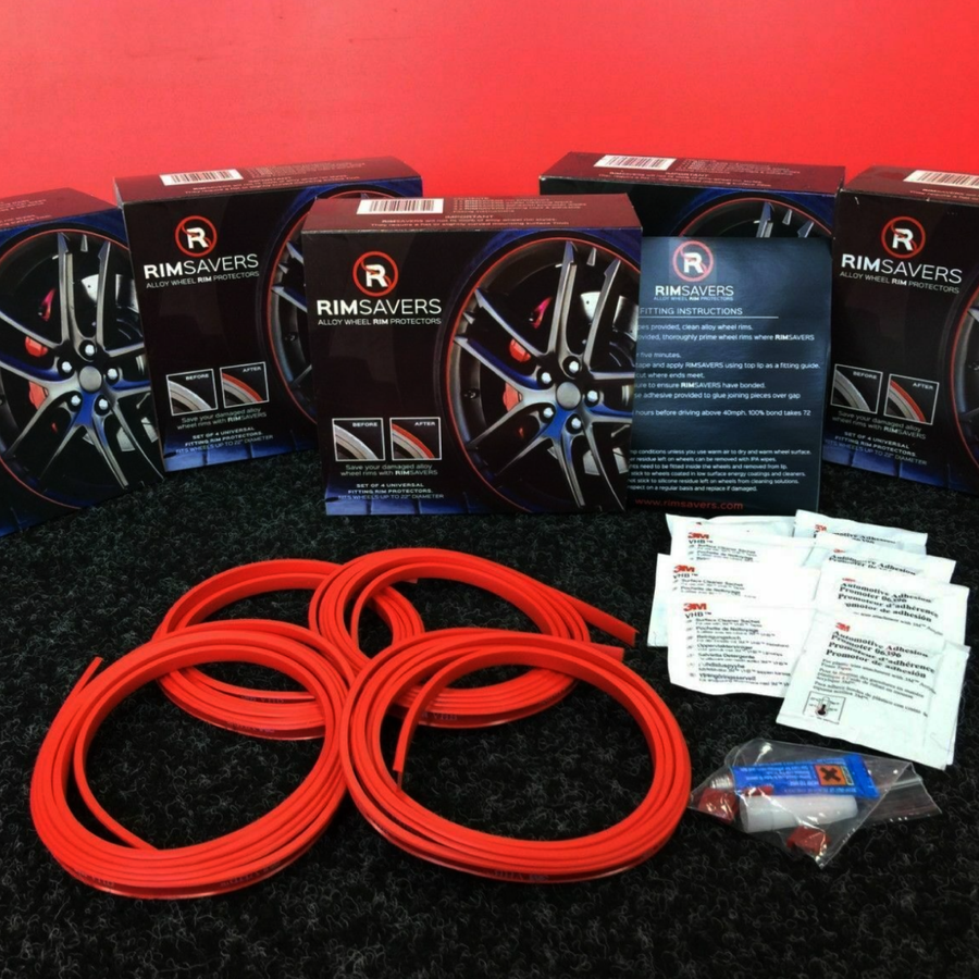 Rimsavers Alloy Wheel Rim Protectors - Full Set