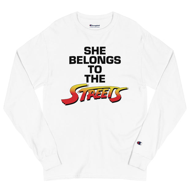 SHE BELONGS TO THE STREETS | Long Sleeve Shirt
