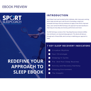 Redefine Your Approach to Sleep E-book