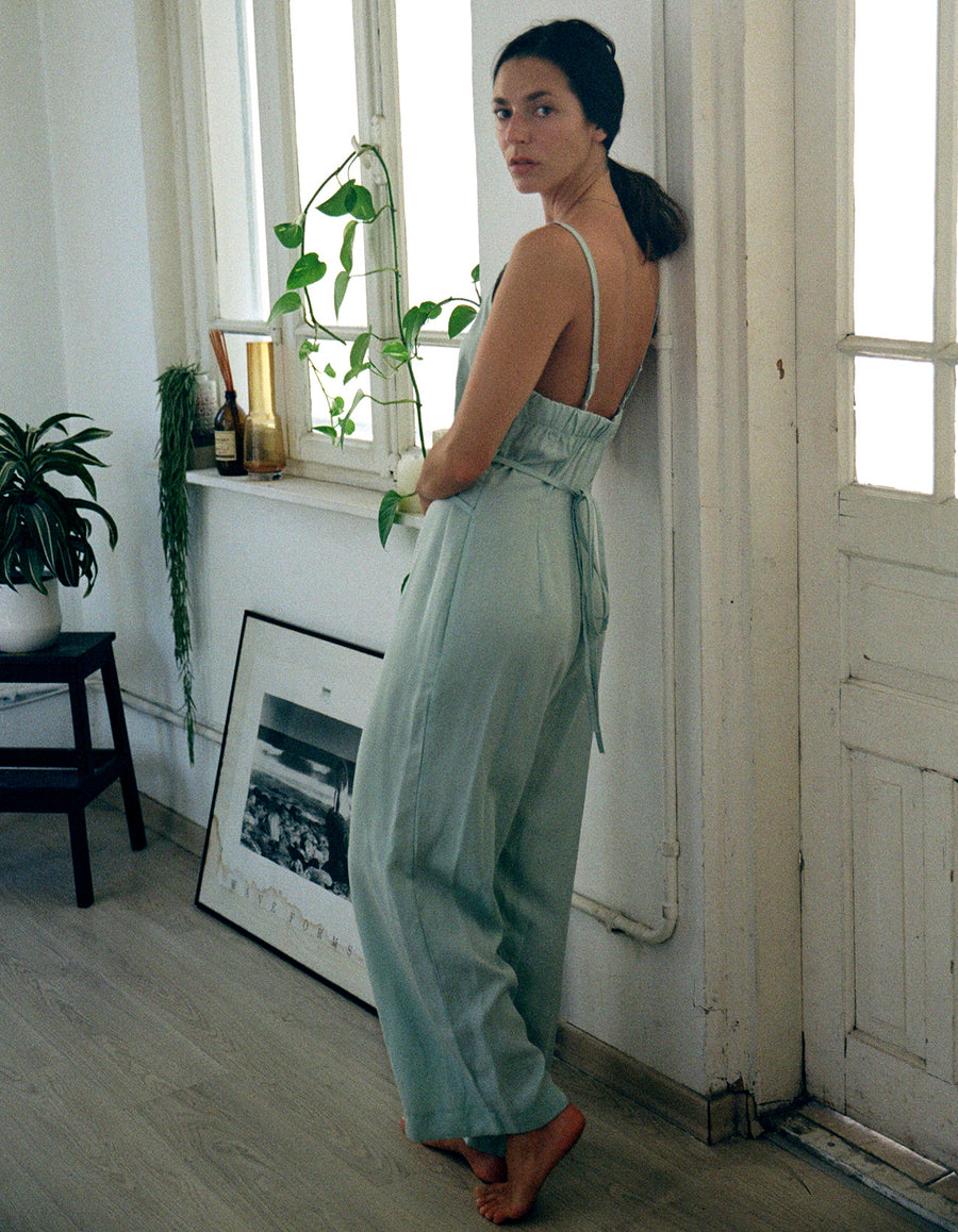 The Jumpsuit in Mint