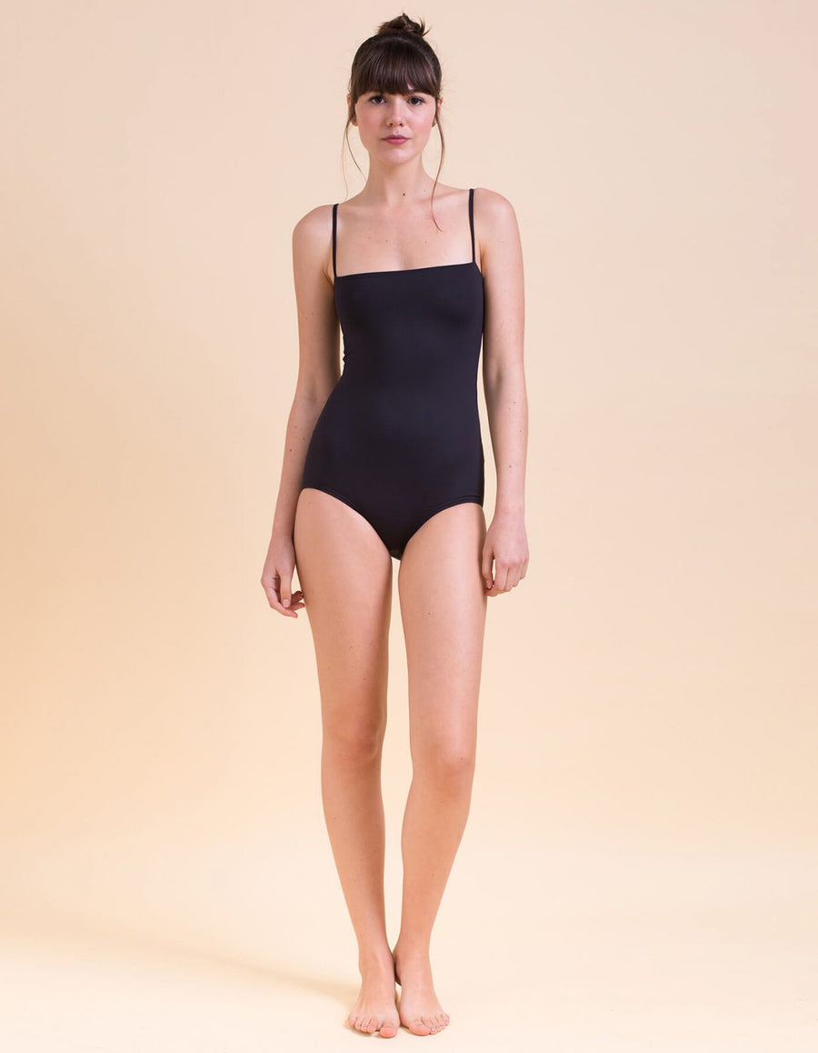 Francesca Black One-Piece