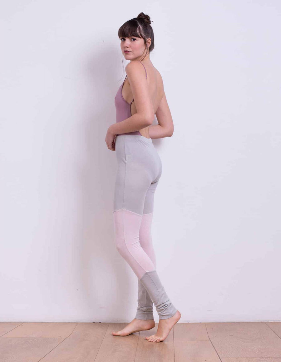 Jemma grey&pink leggings