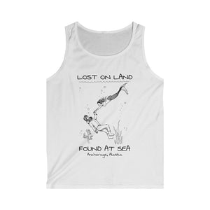 MERMAID - Men's Softstyle Tank Top - ANCHORAGE