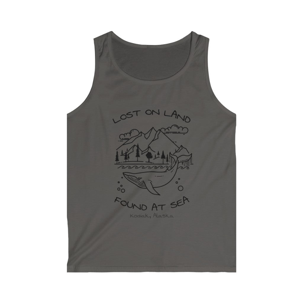 WHALE - Men's Softstyle Tank Top - KODIAK