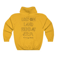 Load image into Gallery viewer, LETTER ART - Unisex Heavy Blend™ Hooded Sweatshirt - ANCHORAGE