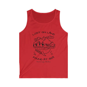 WHALE - Men's Softstyle Tank Top - ANCHORAGE