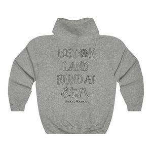 LETTER ART - Unisex Heavy Blend™ Hooded Sweatshirt - SITKA