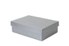 Small Silver Shallow Shirt Box