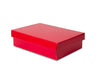 Small Red Shallow Shirt Box
