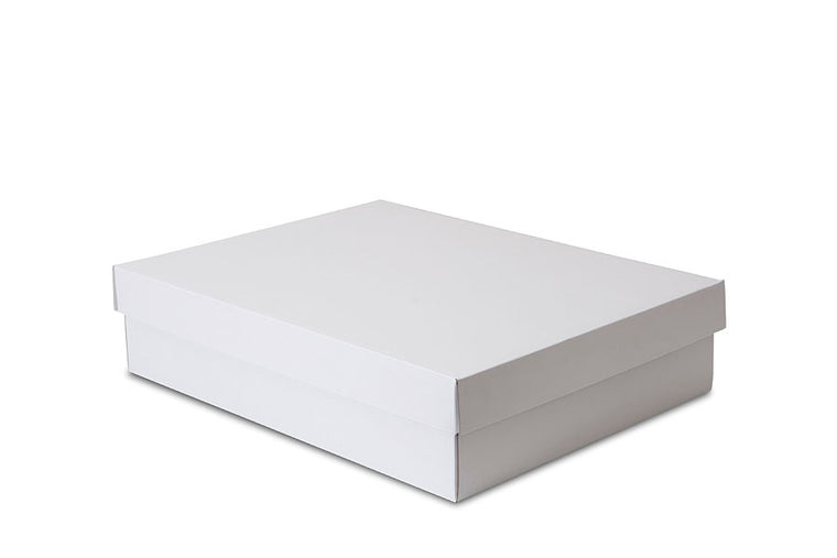 Large White Shirt Box