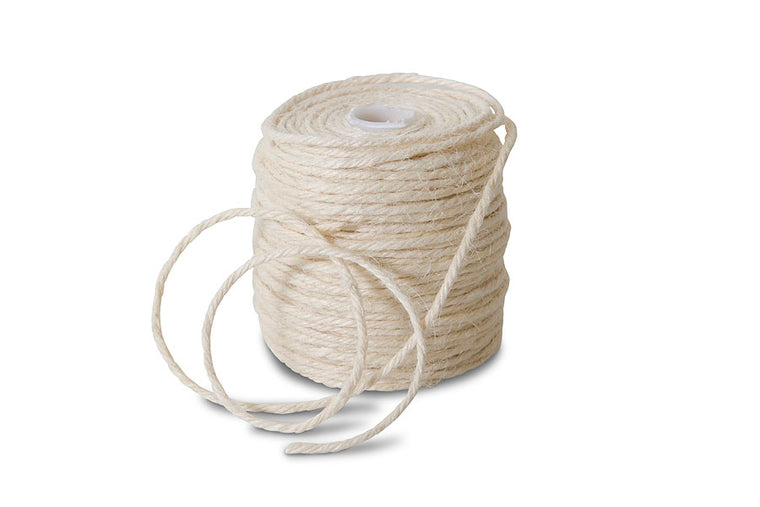 Ivory Jute String Ribbon