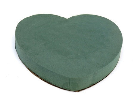 Solid Floral Foam Heart