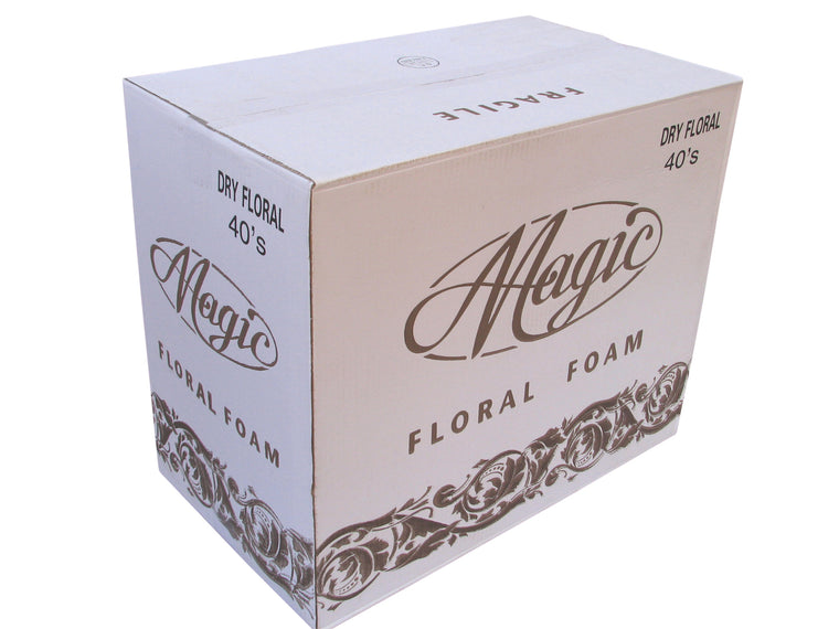 Dry Floral Foam - Box of 40 Bricks