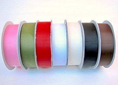 Grosgrain Ribbons 25mm