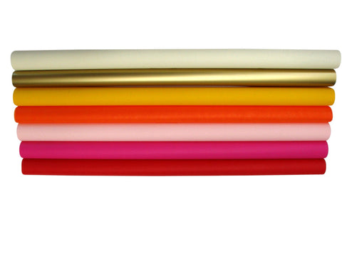 Coloured Cellophane Sheets - Colour Range #1 (50 x 70cm) - 150 sheets