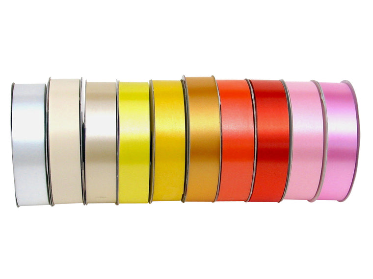 Florist Tear Ribbons 30mm - Colour Range #1