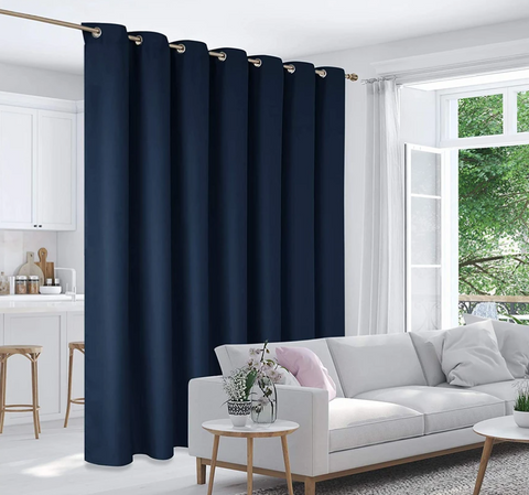 Room Divider Top Curtain