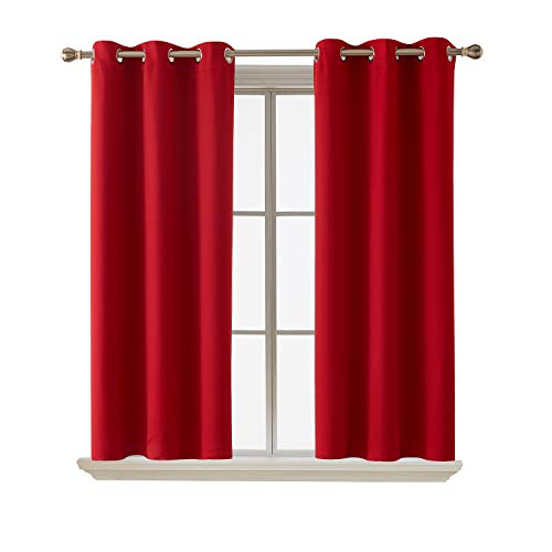 Deconovo Grommet Blackout Curtains Room Darkening Thermal Insulated Curtains