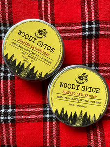 Woody Spice Shaving Lather Soap