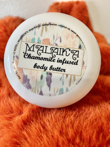 Malaika Chamomile Infused Body Butter